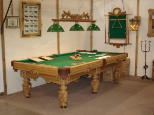 Billiard table furniture exhibition 2